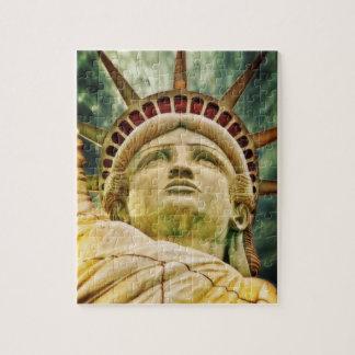 Lady Liberty, Statue of Liberty Jigsaw Puzzle
