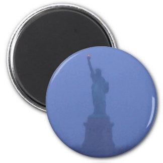 Lady Liberty Statue of Liberty USA America July 4 Magnets