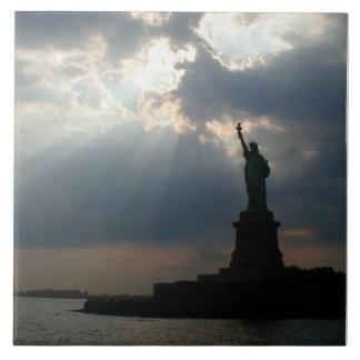 Lady Liberty Tile