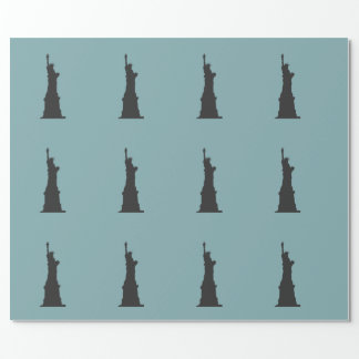 Lady Liberty Wrapping Paper