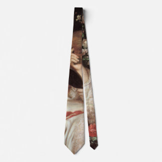 Lady Lilith by Rossetti, Vintage Victorian Portait Tie