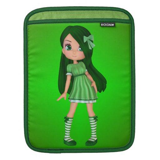 Lady Lime iPad Sleeve
