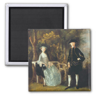 Lady Lloyd and her son, Richard Savage Lloyd, of H Square Magnet