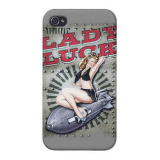 lady luck phone case iPhone 4/4S cases