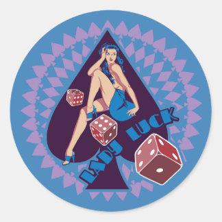 Lady Luck Sticker