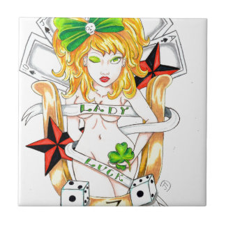 lady luck tile