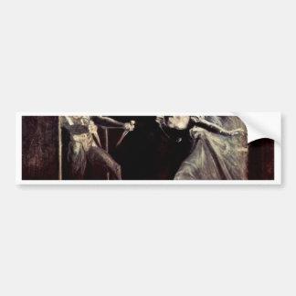 Lady Macbeth Receives The Daggers, Lady Macbeth Ta Bumper Stickers