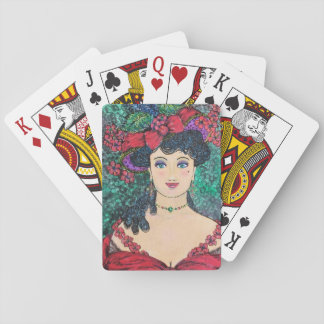 """""""Lady Madeline"""" Playing Cards"""