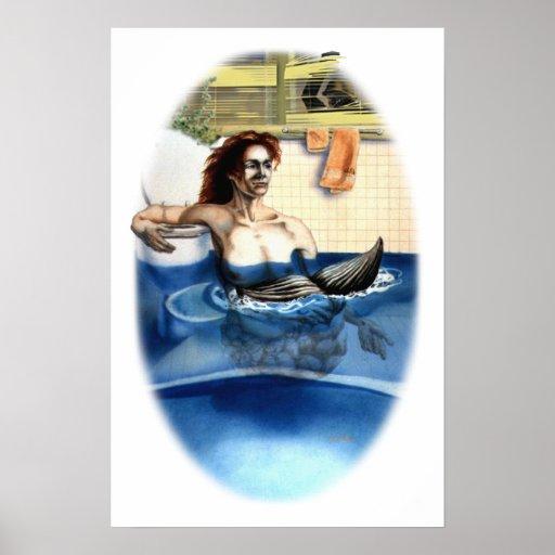 Lady Mermaid Print