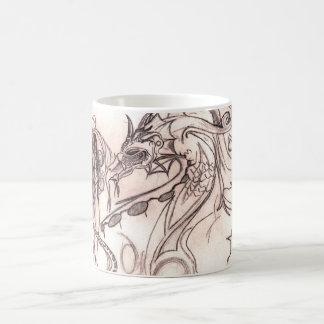 Lady Basic White Mug