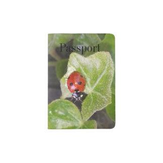 Lady nose ladybird Custom passport covering Passport Holder