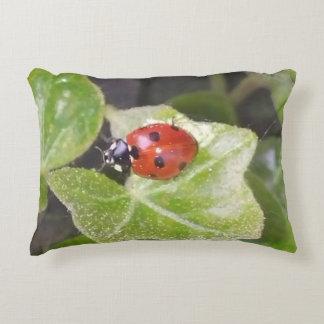 Lady nose ladybird Dekokissen Decorative Cushion