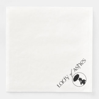Lady of Ashes Paper Napkin