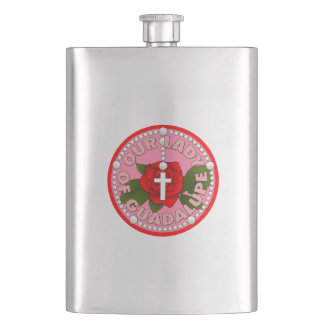 Lady of Guadalupe Hip Flask