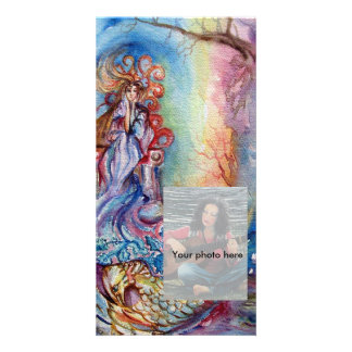 LADY OF LAKE , Magic and Mystery Picture Card