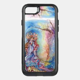 LADY OF LAKE / Magic and Mystery Pink Blue Fantasy OtterBox Commuter iPhone 8/7 Case