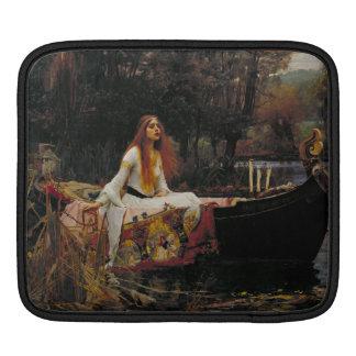 Lady of Shallot by John William Waterhouse iPad Sleeve