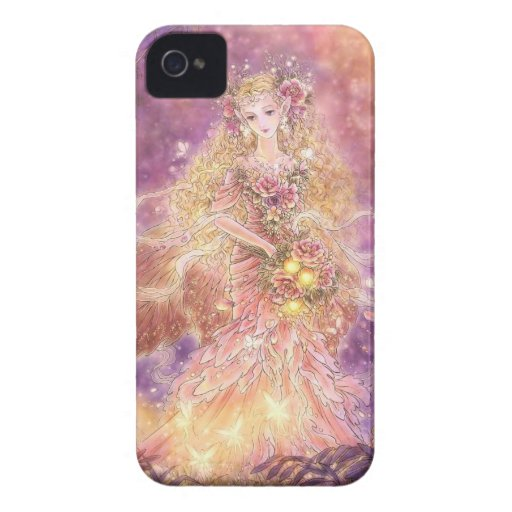 Lady of the Forest Fantasy Art Blackberry Case