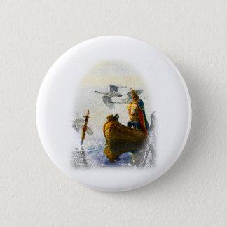 Lady of the Lake 6 Cm Round Badge