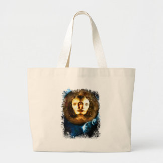 Lady Of Universe Star Fantasy Cosmos Large Tote Bag