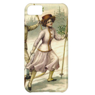 Lady on the mountain iPhone 5C case