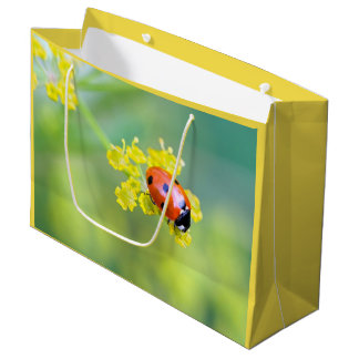 lady on top large gift bag