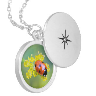 lady on top locket necklace