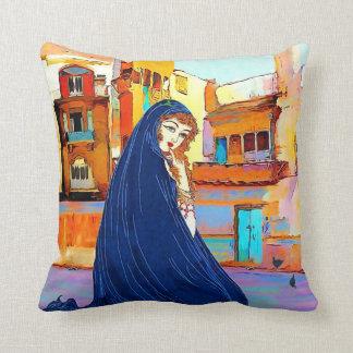 Lady oriental سيدة شرقية cushion