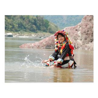 Lady Padaung Postcard