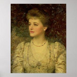 Lady Palmer Poster