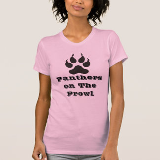 Lady Panther On The Prowl T-Shirt