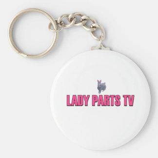 Lady Parts TV Keychain