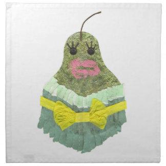 Lady Pear Cloth Napkins