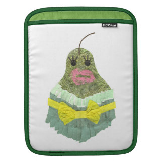 Lady Pear I-Pad Sleeve
