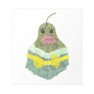 Lady Pear Notepad