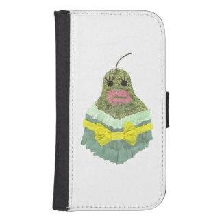 Lady Pear Samsung Galaxy 4 Wallet Case