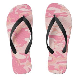 Lady pink style camo thongs