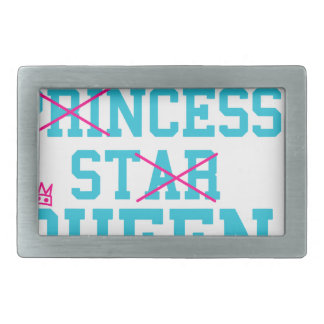 Lady princess star queen belt buckle