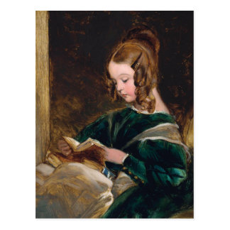 Lady Rachel Russell Reading a Book Postcard