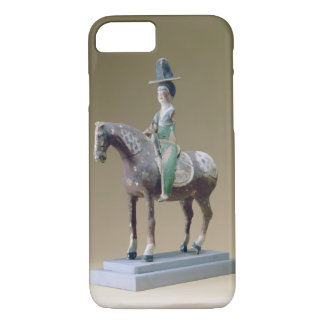 Lady rider, Astana, 7th century (stucco) iPhone 7 Case