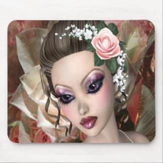Lady Rose Mouse Pad