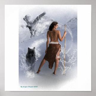 Lady Shaman Poster