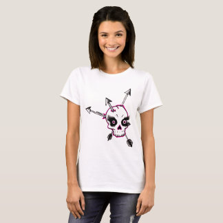 Lady Skull n Arrows T-Shirt
