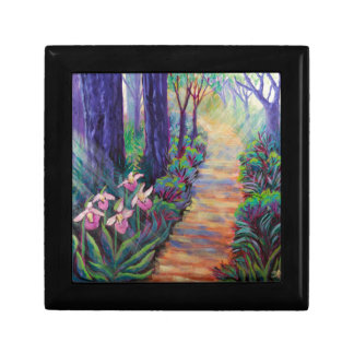 Lady Slippers on the Path Gift Box