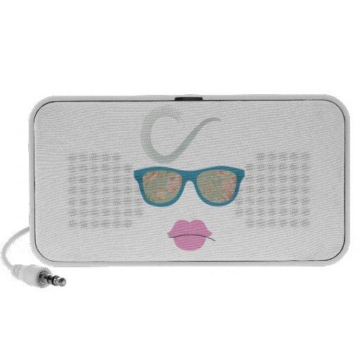 lady PC speakers
