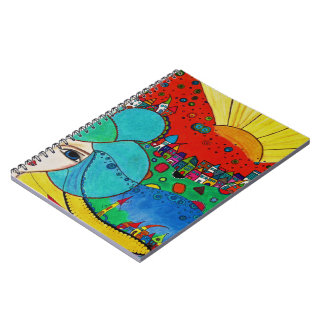 Lady Spiral Notebook