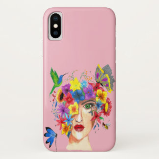 Lady spring iPhone x case