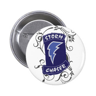 Lady Storm Chaser 6 Cm Round Badge