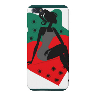 Lady Strawberry iPhone 5 Case