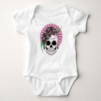 Lady Sugar Skull Baby Bodysuit